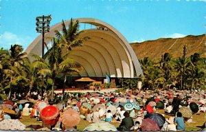 Hawaii Waikiki Beach Kapiolani Park Waikiki Band Shell
