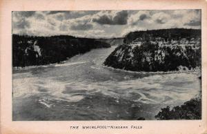 The Whirlpool, Niagara Falls, New York, Very Early Postcard, Unused