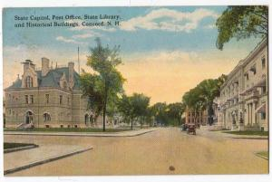 State Capitol, PO, Library, & Historical Bldg. Concord NH