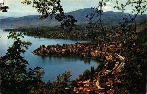 Switzerland Territet Montreux Clarens Lake General view Postcard