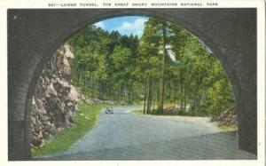 Lower Tunnel, The Great Smoky Mountains National Park, 19...