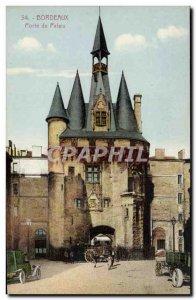Postcard Old Bordeaux Porte Du Palais