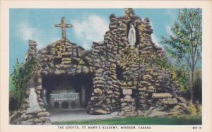 The Grotto, St. Mary's Academy, WINDSOR, Ontario, Canada, 10-20s