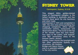 Night View, Sydney Tower, Centrepoint, Sydney, New South Wales, Australia, 50...