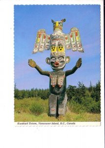Kwakiutl Totem, Vancouver Island British Columbia,