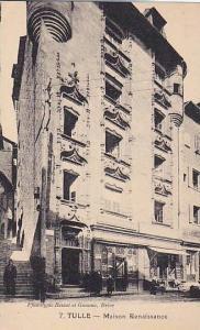 Maison Renaissance, Tulle (Corrèze), France, 1900-1910s