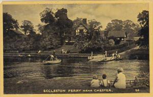 England Eccleston Ferry Near Chester