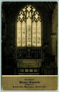 Colorado Springs~Stained Glass Window~Grace Episcopal Church~Architect Frohman