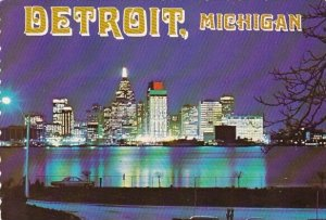 Detroit Aglow Detroit Michigan