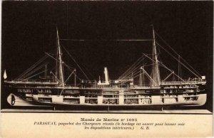 CPA AK Musée de Marine, Paraguay, paquebot des Chargeurs SHIPS (754795)