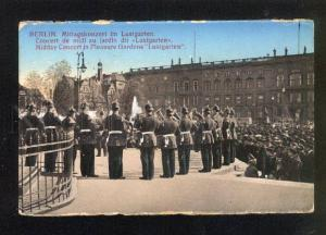 044671 BERLIN Musicians Midday Concert Vintage PC