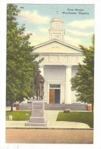 Court House, Winchester, Virginia, 1930-1940s