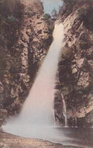 Glen Ellis Falls White Mountain New Hampshire Handcolored Albertype 1925