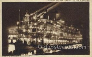 Capitol Ferry Boats, Ferries, Steamboat, Ship Saint Louis, MO, USA Unused lig...