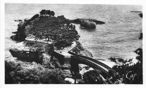 France Biarritz Le Basta Bridge CAP Vintage Postcard