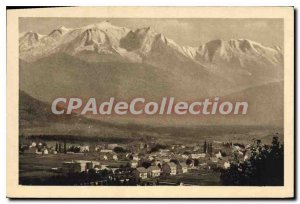 Postcard Old And Sallanches Mont Blanc