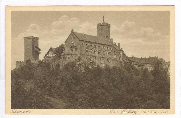 Eisenach , Germany, 00-10s Die Wartburg von Sud-Ost