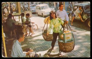 Sidewalk vendor, Saigon
