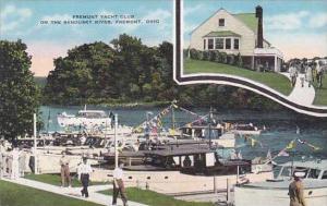 Ohio Fremont Fremont Yacht Club On The Sandusky River