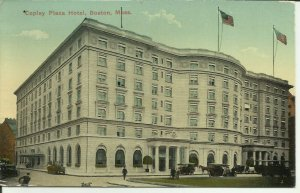 Copley Plaza Hotel, Boston, Mass.