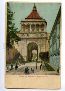 147157 ITALY Saluti da PALERMO Porta Nuova Vintage postcard
