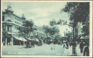 brazil, RIO DE JANEIRO, Avenida Rio Branco (1930s)
