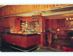 Unused Pre-1980 ELWAL PINES MOTEL Williamstown Massachusetts MA s3407