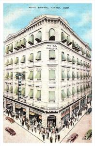 19402  Cuba  Havana  Hotel Bristol
