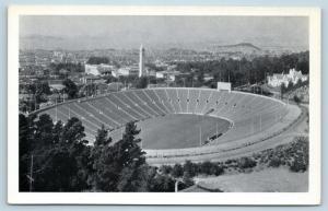 Postcard CA Berkeley California Memorial Stadium University of California N13