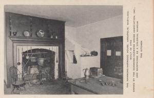 ANNAPOLIS , Maryland , 10s-20s ;  The Kitchen, Hammond-Harwood House