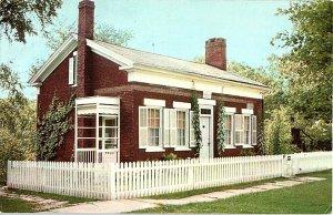 Chrome HOUSE SCENE Milan - Near Sandusky & Elyria & Cleveland Ohio OH AH8712