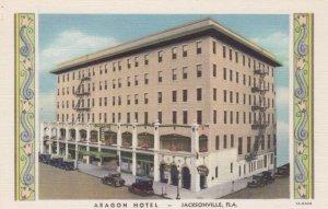 JACKSONVILLE, Florida, 1930-40s; Aragon Hotel