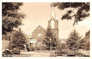 Griffin Georgia First Methodist Church Real Photo Antique Postcard K11117