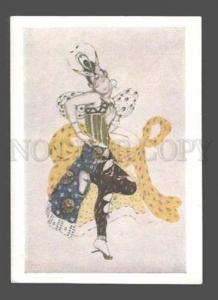 084080 Ballet TRUHANOVA by BAKST Russian SEASON Mir Iskusstva