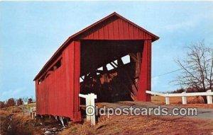 Illinois Covered Bridge Springfield, IL, USA Unused
