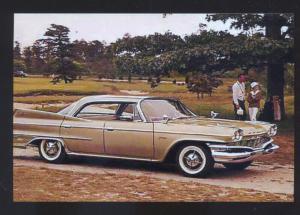 1960 DODGE POLARA CAR DEALER ADVERTISING POSTCARD '60 MOPAR CARS