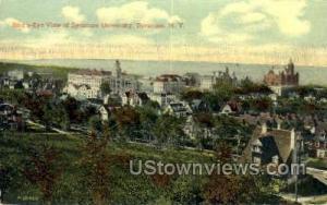 Syracuse University Syracuse NY 1914