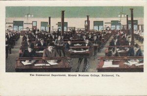 RICHMOND , Virginia , 1900-10s , Massey Business College, Commercial Dept.