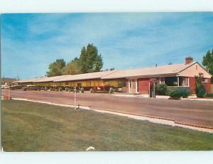Unused Pre-1980 WESTERN HILLS MOTEL Reno Nevada NV u4118