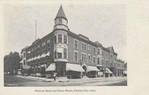 CHARLES CITY , Iowa, 1901-07 ; Hildreth Hotel & Opera House
