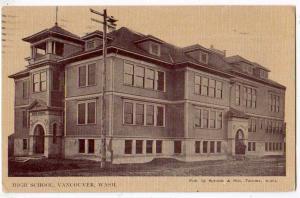 High School, Vancouver WA
