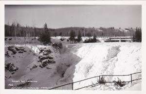 RP: Kakabaka Falls in Winter , Ontario , Canada , 30-40s