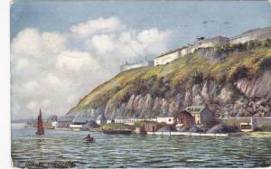 TUCK #2559, The Citadelle, Quebec, Canada, PU-1909