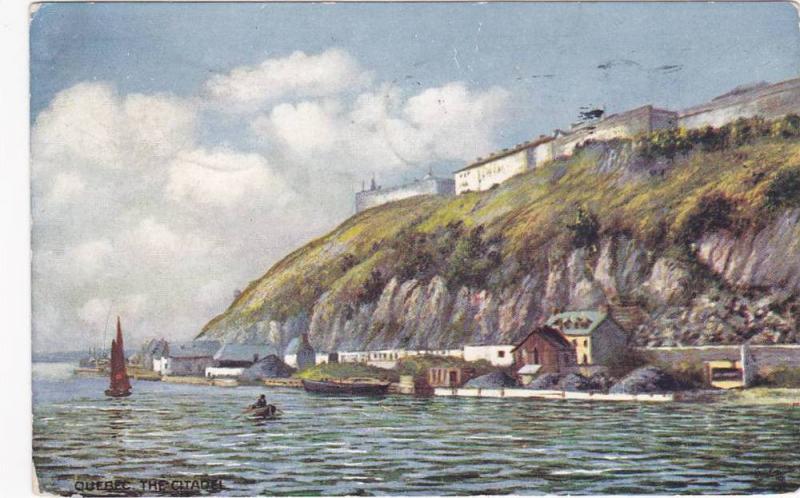 TUCK #2559, The Citadelle, Quebec, Canada, PU-1909