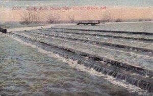 Setting Basin Omaha Water Company At Florerice Nebraska 1914