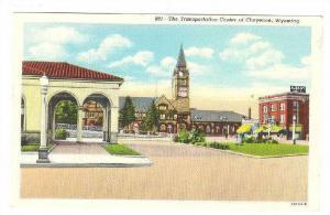 The Transportation Center Of Cheyenne, Albany Hotel, Cheyenne, Wyoming, 1930-...