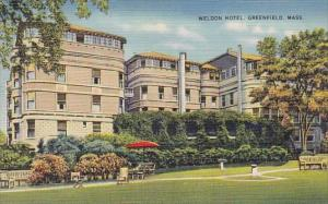 Weldon Hotel Greenfield Massachusetts