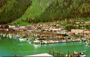 Alaska Juneau Boat Harbor and Residential District