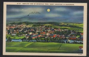 Tennessee colour PC US Birds Eye View Sevierville, unused