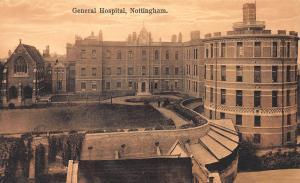General Hospital, Nottingham, England, Unused